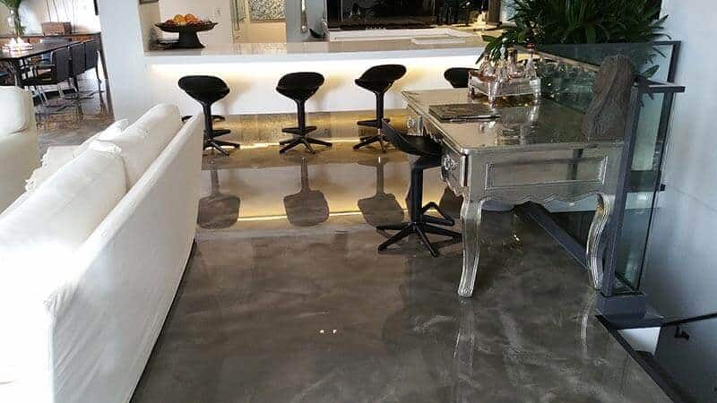 Residential Urban Murano Polished Pewter Gloss Sth Yarra