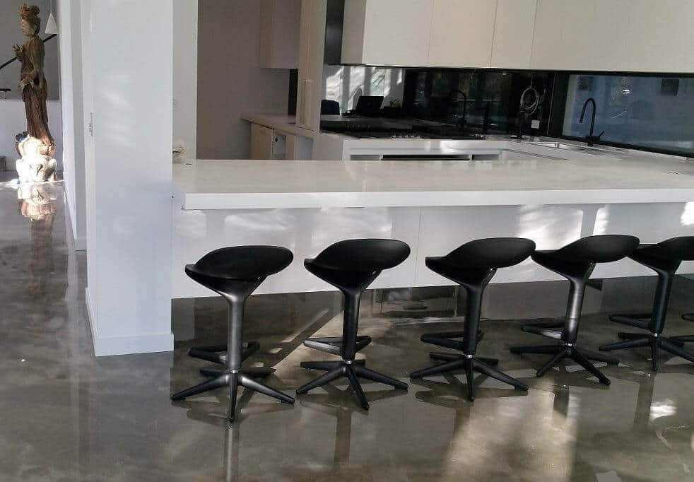 Residential Urban Murano Epoxy Polished Pewter Sth Yarra