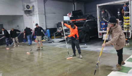 Team Urban Hard At Work!