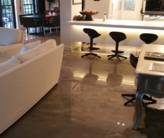 Urban Murano Polished Pewter Gloss Sth Yarra
