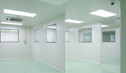 Hospital Epoxy Finish